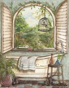 Serene Bath I (Kate McRostie)