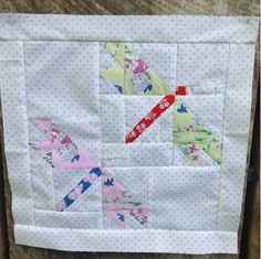 Pretty Playtime Quilts ~ Dragonfly Quilt  Block #ilovepennyrose #fabricismyfun