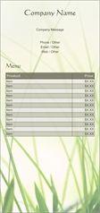 grass lawn Flyers & Leaflets