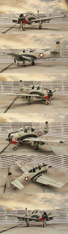 Air Commando`s T-28B, Operation Farmgate