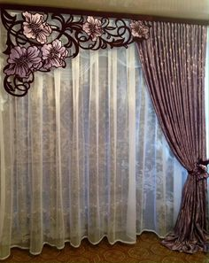 Do you want to make modern curtains? If so, you need to know the best modern curtain design. Modern curtain design is one of the best ways you can choose when you want to make the best curtain for your… Continue Reading → Luxury Curtains, Home Curtains, Curtains Living, Modern Curtains, Curtains With Blinds, Valance Curtains, Cornice, Valances, Drapery
