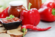 Ketchup paprykowy Ketchup, Stuffed Peppers, Vegetables, Cooking, Food, Dressings, Kitchen, Stuffed Pepper, Essen