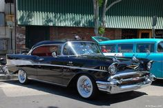 1957 Chevy Bel Air   mine was just like this--black hardtop. Got it in 1969