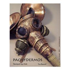 Pachydermos Print Art. Home decor. Interior Design. Wall art, Mechanical…