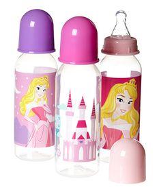 Look what I found on #zulily! Disney Princess Aurora 9-Oz. Bottle - Set of Three #zulilyfinds