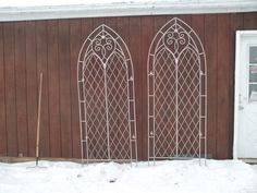 Stainless steel church  trellises