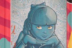 Street Art in flats : Tour Paris 13