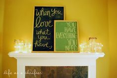 When you love what you have, you have everything you need.   Life as a Thrifter