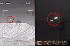 The video obtained by investigate journalist David Collins showsmilitary aircraft in the skies above Arizona on the night of one of the world's most famous UFO sightings in March 1997