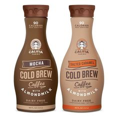 Make the switch to Mocha & Salted Caramel Cold Brew Coffee for superior taste, more antioxidants and less acidity than hot brewed. Iced Starbucks Drinks, Starbucks Caramel, Healthy Starbucks, Mocha Drink, French Vanilla Creamer, Chocolates, Coffee Packaging, Cold Brew, Coffee Recipes