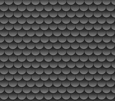 dark grey scallop roof shingles