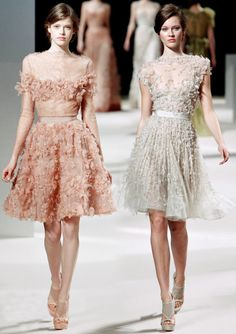 Elie Saab Spring/Summer 2011 Couture Wedding Dresses.