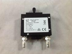 47031210 - ARGUS TECHNOLOGIES - 60 AMP CKT BREAKER 5/16 BULLET BLACK HNDL 2 PIN W/STRAP 80V