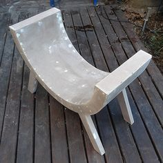 HOME DZINE Home DIY | How to make a curved chair