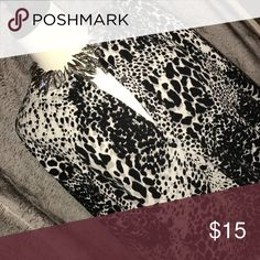 Animal Print Cardigan Great condition. Sweaters Cardigans