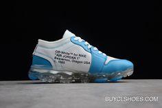 bbae73f1fd7f Off-White X Nike Air Vapormax X Air Jordan 1 High Og  Unc  White Cone-Dark  Powder Blue Aa3839-002 New Release