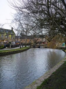 Heart of England Way in the Cotswolds: Bourton-on-the-Water at the end of the trail.