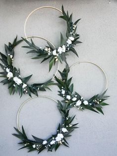 inspiration greenery Wedding Hoops with Greenery and Flowers Bridal shower decor Baby shower Backdrop Photo Backdrop floral wreath large wood hoop for decorating Gold Wedding Decorations, Wedding Wreaths, Bridal Shower Decorations, Diy Wedding, Dream Wedding, Wedding Ideas, Bridal Shower Flowers, Wedding Nails, Wedding Types