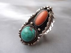 native american antique ring