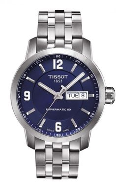 Tissot PRC 200 Automatic The Tissot's PRC 200 is a sport watch collection built for performance featuring Swiss quality and craftsmanship at a gentle price. This flagship collection of timepieces is available in a multitude of looks to compliment various lifestyles. Scratch resistant sapphire crystal protects this beautiful timepiece. This particular model has the Swiss Automatic Powermatic 80 Movement and is robust and classic with a modern touch.
