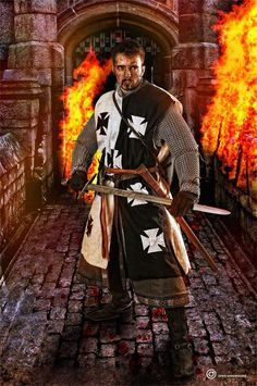 Templar Knight - http://www.facebook.com/L1GHTWORKER