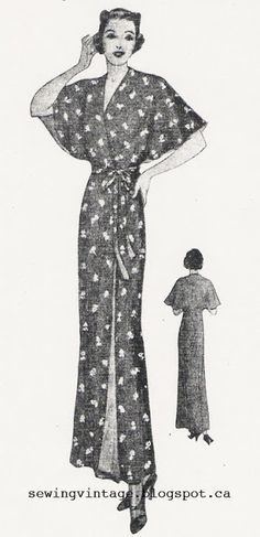 The Vintage Pattern Files: 1930's