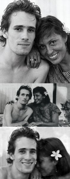 Jeff Buckley and his mother Mary