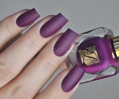beautiful matte polish