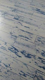 Beyaz Parke: Beyaz Mavi Laminat Parke
