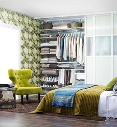Lushome shares a collection of closet designs to organize your master bedroom, bring comfort and luxury into your home. There are few things more luxurious, attractive and stylish than a walk in close