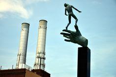 Detroit - null Statue Of Liberty, Detroit, Architecture, Travel, Statue Of Liberty Facts, Arquitetura, Viajes, Statue Of Libery, Destinations