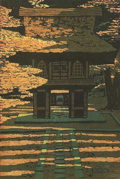 Kasamatsu Shiro   Heirinji Temple, 1962