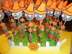 Resultado de imagen para fiesta de cumpleaños de plants vs zombies Zombie Birthday Parties, 5th Birthday Party Ideas, Zombie Party, 8th Birthday, Plants Vs Zombies, Monster Party, Plantas Versus Zombies, Plant Zombie, Halloween Entertaining