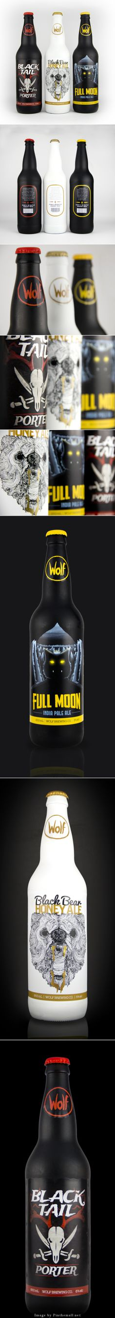 Wolf Brewing here's a few beer creatures for you packaging curated by Packaging Diva PD