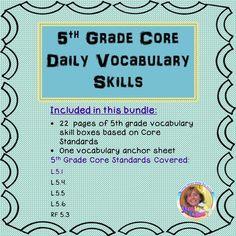 5th Grade Core Daily