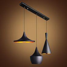 Moderne ABC ( tall, Fat et Wide ) lampes suspendues Instrument de musique rythme pendentif lumière E27 Tom Dixon conception lampe suspendue(China (Mainland))
