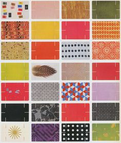 """Images used on the deck of Eames cards, which interlock and stack to build a stable """"House of Cards"""""""