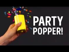 Party must-have; How to make your own party popper! l 5-MINUTE CRAFTS