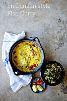Have an aromatic (but not hot) and very easily put together Sri Lankan fish curry with green rice any day of the week with this recipe using quality frozen fish. Don't eat fish? This is also superb with tempeh.