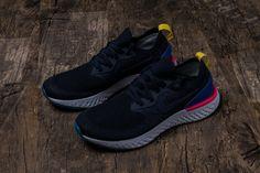 8191815d0762 Nike Epic React Flyknit AQ0067-004 Carbon Blue Mens Womens Footwear10