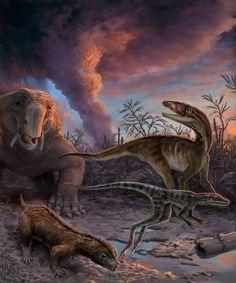 Reformierter Stammbaum Forscher haben mithilfe einer atomaren Uhr die Dinosaurier-Vorfahren aus der Trias punktgenau datiert. Die Studie stellt bisherige Erkenntnisse infrage