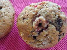 Recette Muffins fruit rouge au thermomix