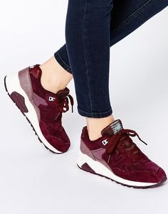 New Balance Meteorite Burgundy 580 Trainers, $205 CAD from ASOS