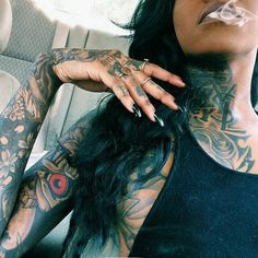 All Types Of Tattoos…