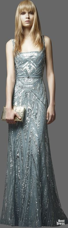 Elie Saab 2012/2013. I'd cut off my left arm to wear this. Well maybe not, because then the dress would not be done justice.