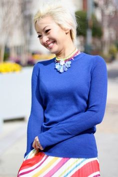 Vkoo & Anchyi Wei necklace on Refinery 29: 1 Girl, 4 Looks