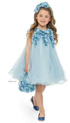 Wedding Dress Lace, Chic Tulle Jewel Neckline A-line Flower Girl Dresses With Flowers, Unique and inexpensive wedding gowns that wow! Shop our wedding dresses online and in-store for top styles and trendy bridal looks. Little Dresses, Little Girl Dresses, Flower Dresses, Cute Dresses, Girls Dresses, Baby Dresses, Fashion Kids, Little Girl Fashion, Flower Girls