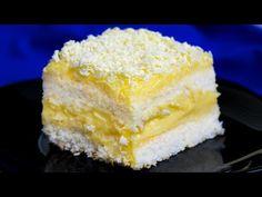 Neexistuje žádný jemnější a výtečnější dezert než dort RAFFAELLO| Cookrate - Czech - YouTube Vanilla Cake, Coco, Cheesecake, Diet, Biscotti, Cooking, Cakes, Youtube, Fig Salad