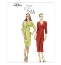 V8682 | Misses' Dress | Very Easy Vogue | Vogue Patterns
