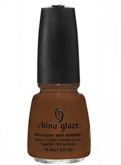 China Glaze's Mahogany Magic is one of the most gorgeous brown polishes I've ever seen